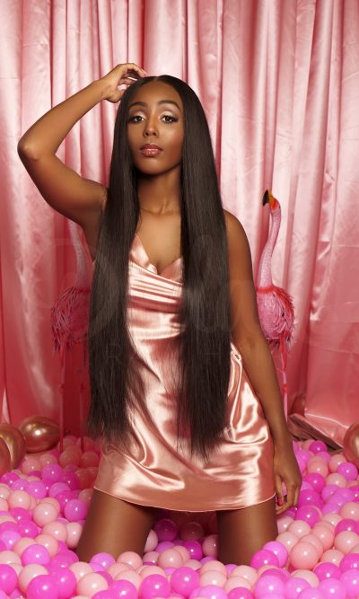 Dellahs Raw Cambodian Straight Hair Double Drawn Weft Extensions