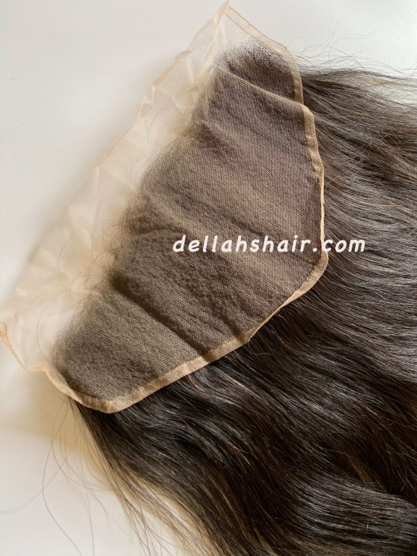 Dellahs Raw Cambodian 13x6 Straight Frontal