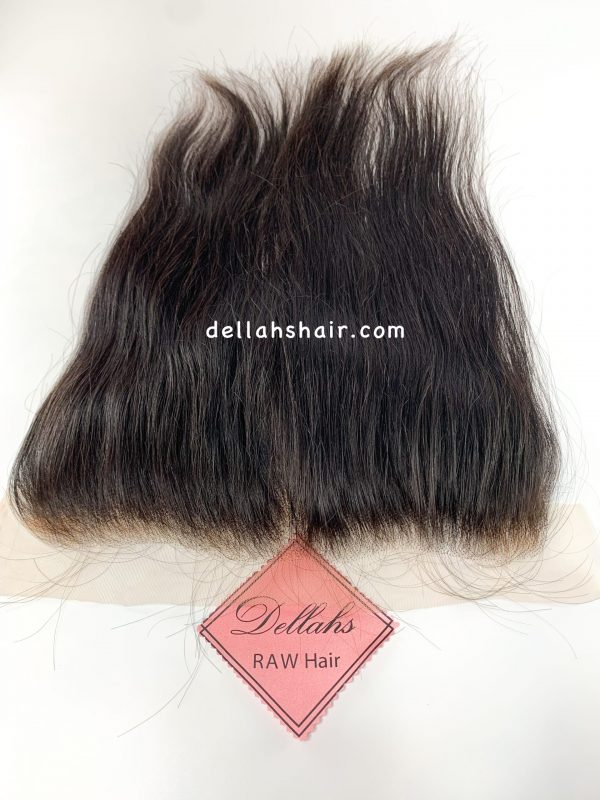 Dellahs Raw Cambodian 13x4 Straight Frontal