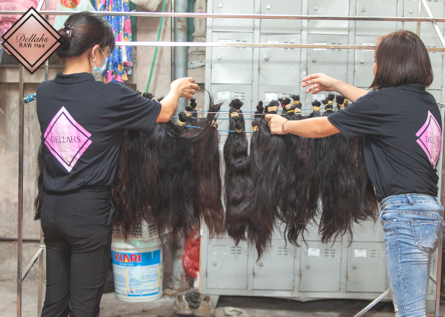 Dellahs Raw Unprocessed Cambodian & Burmese Hair