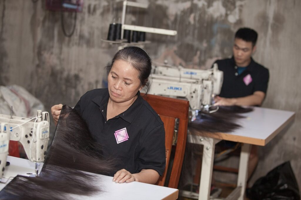 Dellahs Raw Hair Factory Cambodia